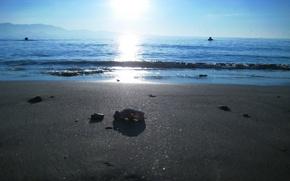 Wallpaper sand, sea, beach, nature