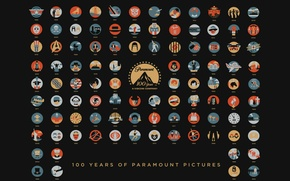 Picture Movie, Movies, Art, Movies, 100 years, Paramount Pictures, Paramount Pictures, 100 Years Anniversary
