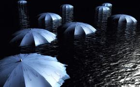 Picture water, Umbrellas