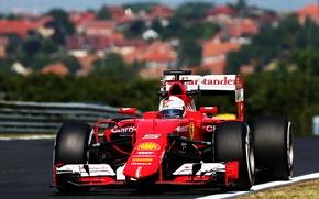 Picture Ferrari, Formula 1, Vettel, The front, 2015, SF15T, Video
