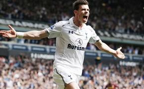 Picture football, football, Goal, Wales, Bale, Gareth, Bale, EPL, Spurs, Tottenham, Tottenham Hotspur