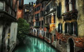 Picture street, building, home, Italy, Venice, channel, Italy, street, Venice, Italia, Venice, canal