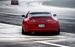 Picture TRD, Red, Machine, Toyota, Tuning, Red, Track, Tayota, Tuning, Supra, Supra