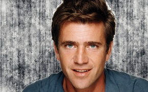Picture look, smile, actor, Mel Gibson, Mel Gibson