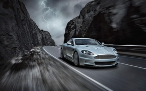 Picture road, 007, Aston Martin DBS