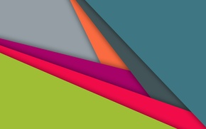 Picture line, blue, geometry, design, color, raspberry, material-, dark turquoise, pistachio