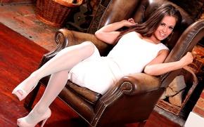 Picture sexy, dress, woman, model, Emma Kuziara