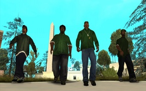 Picture Ryder, Carl Johnson, Grand Theft Auto, Sweet, Melvin Harris, San Andreas, The Big Smoke, Shawn …