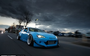 Picture subaru, road, toyota, jdm, tuning, speed, low, brz, stance, gt86, scion, fr-s