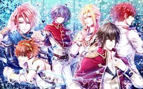 Picture anime, art, guys, Senjou no Waltz