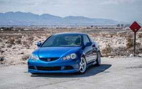 Picture honda, japan, Honda, blue, jdm, tuning, front, face, low, acura, stance, integra, rsx, stock