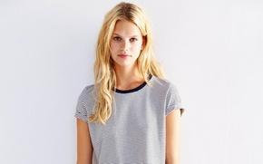 Picture girl, model, beauty, Nadine Leopold