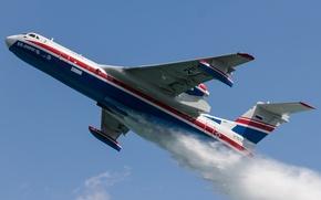 Picture flight, Russian, seaplane, amphibian, Be-200CHS