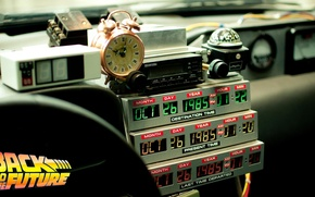 Picture Watch, Back to the future, Time machine, Time machine, Timer