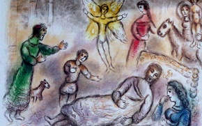 Picture 1975, Russian, French artist, Belarusian, Bruges Oud Sint Jan, Marc Chagall, Lithographie, The Odyssey of …
