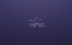 Picture work, math, vectors