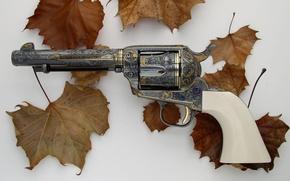 Wallpaper Gun, Revolver, Colt