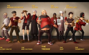 Wallpaper Team Fortress 2, TF2, Valve
