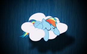 Picture cloud, My Little Pony, Rainbow Dash, MLP, Rainbow Dash