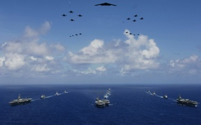 Wallpaper Navy, sea, Navy, aircraft
