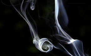 Picture abstraction, abstraction, smoke