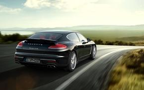 Wallpaper Turbo, Porsche, Panamera, 2014, Porsche, Panamera