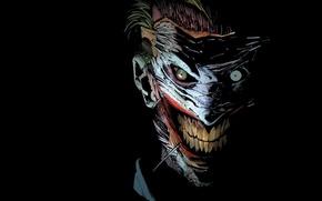 Picture batman, Joker, joker, comics, masks