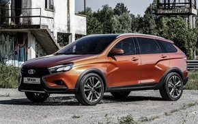 Picture Concept, the concept, Lada, cross, Lada, AVTOVAZ, Cross, Vesta, Vesta