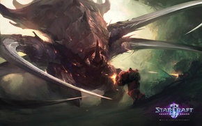 Picture StarCraft 2, Zerg, Heart of the swarm, Great One, Great Zerg