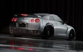 Picture Black, WALD, Nissan GT-R Sports, Line, Bison Edition