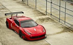 Picture the fence, Ferrari, pilot, red, Ferrari, red, 458, Italy, Italia