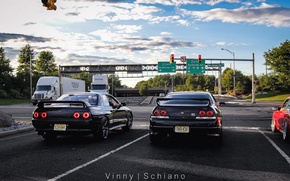 Picture Nissan, GT-R, R33, Skylin
