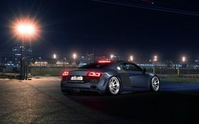 Picture Audi, Light, Design, Sportcar, Airport, Prior, Rear