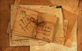 Picture old, vintage, vintage, paper, letters, cards, envelopes