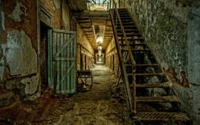 Picture interior, prison, Absolute Decay