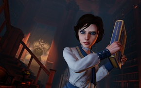 Picture Bioshock, elisabeth, IrrationalGames, Infinite