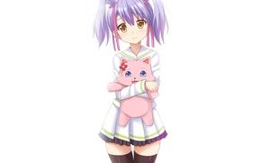 Picture kawaii, girl, game, flower, dress, nothing, anime, cat, beautiful, animal, asian, cute, manga, hunter, japanese, …