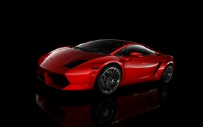 Picture red, gallardo, Rendering, vray