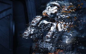 Picture ash, weapons, Star Wars, soldiers, clone, star wars