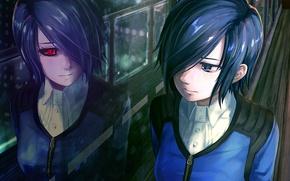 Picture girl, reflection, Tokyo ghoul, Tokyo Ghoul, Kirishima Bring