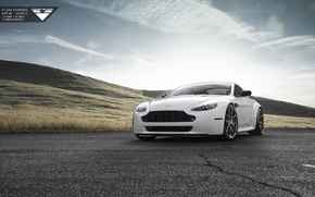 Picture Aston Martin, Vantage, Vorsteiner, Forged, 101, Wheels, Flow, V-FF