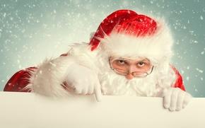 Picture glasses, Santa Claus, Santa Claus