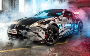 Picture tuning, Nissan, Nissan, tuning, the front, Rally, 370Z, NISMO, NISMO, Gumball 3000