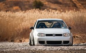 Picture Volkswagen, R32, Golf, Stance, Works