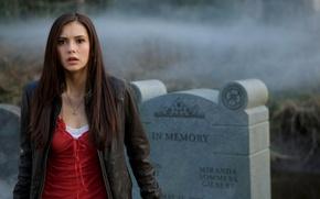 Picture girl, star, actress, Nina Dobrev, Nina Dobrev, The Vampire Diaries, celebrity, The vampire diaries, katrin ...
