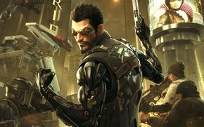 Picture cyborg, Deus Ex: Human Revolution, cyberpunk, Adam Jensen, Square enix, Adam Jensen, cyborg, Eidos Interactive, …