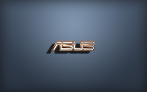 Picture logo, Asus, letters