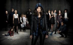 Picture the series, Orphan Black, Tatiana Maslany, Dark child