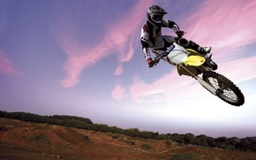 Wallpaper Bike, Flight, Motorcyclist