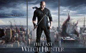 Picture immortal hunter, cursed cloud, Vin Diesel, curse, window, ken, weapon, gun, american, sky, Kaulder, film, …